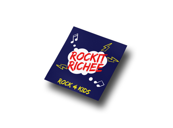 Rockit Richee Sticker
